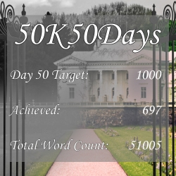 50K50Days - Day 50 - Lauren Mayhew Author - Young Adult Author Rendezvous